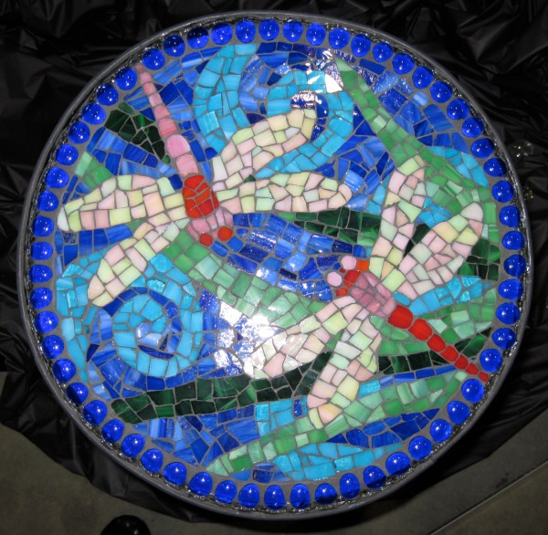 Dragonfly Mosaic Art Patterns