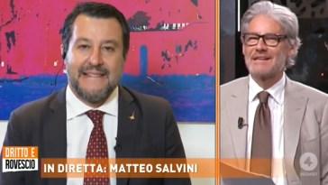 """MATTEO SALVINI: """"GRAZIE A RETE 4 PER L'INFORMAZIONE CONTROCORRENTE, ALTRI 30 ANNI!"""""""