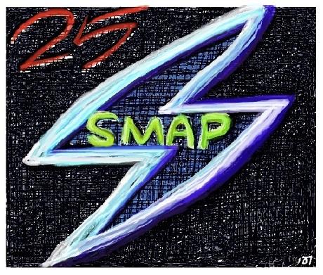 SMAP 25th CD Illust