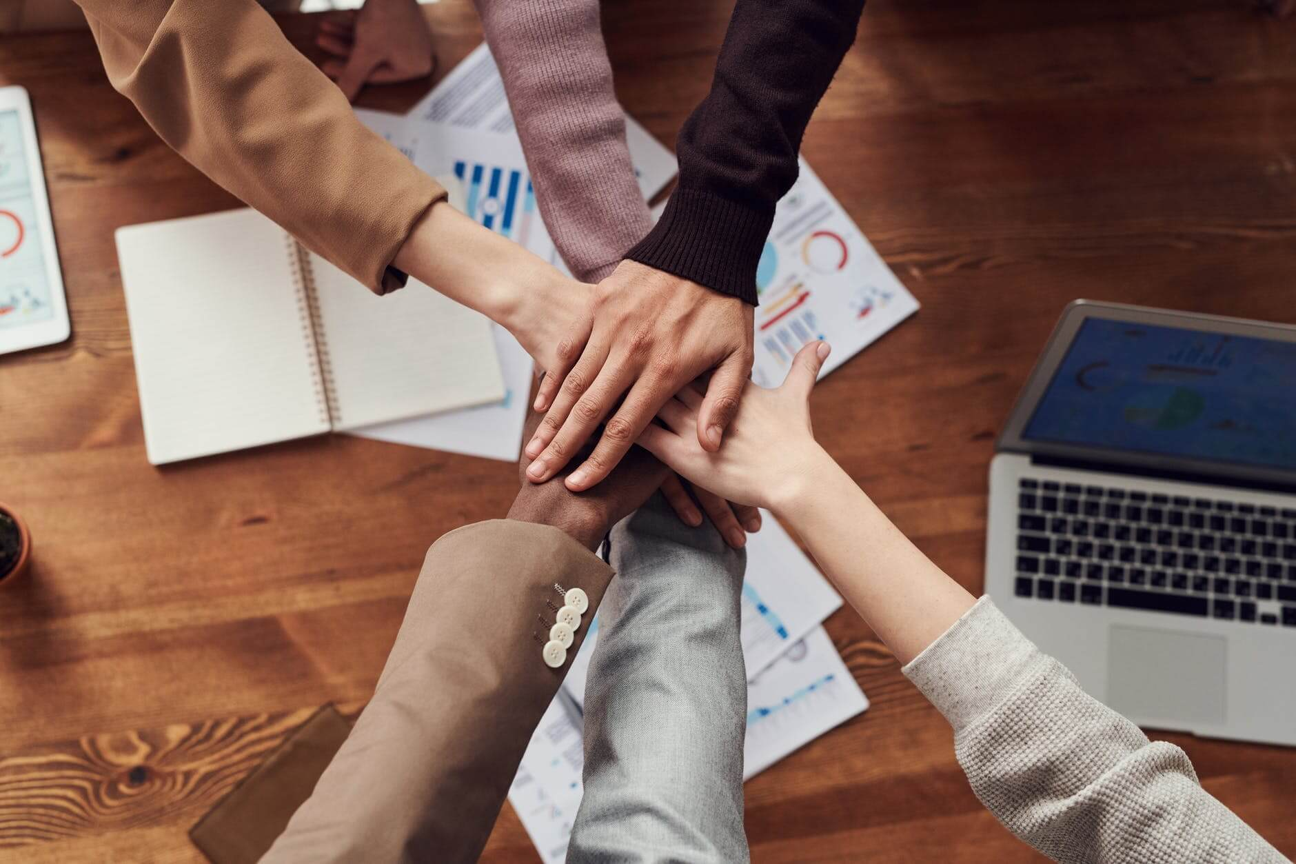 People are showing their willingness of collaboration within their team