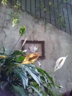 Ceainicul de pe perete