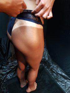 legs only spray tan