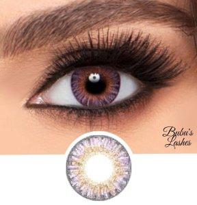 Amethyst Purple Non-prescription Contact Lenses