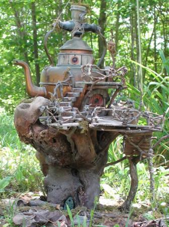 """Z serii """"Domki dla Elfow"""" magiczny blog wrozki Marii Bucardi"""