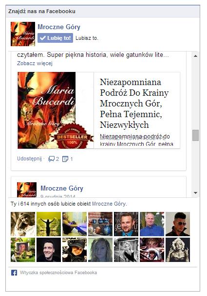 Mroczne Gory na Facebook