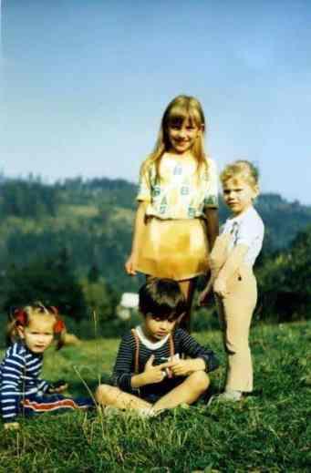 Najstarsza dziewczynka, to ja - naturalnie :-)
