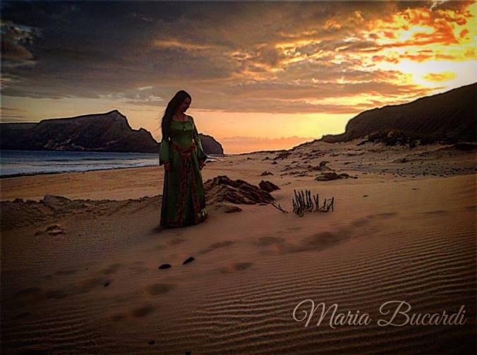 Od Marii Bucardi z mitycznej Atlantydy - Porto santo 2017