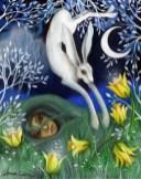 Rownonoc - obraz Amanda Clark