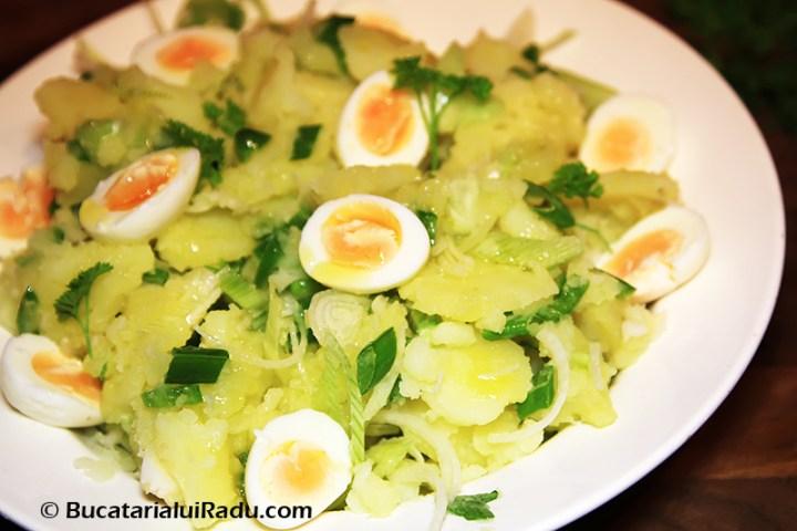reteta culinara salata pentru calcan la grill