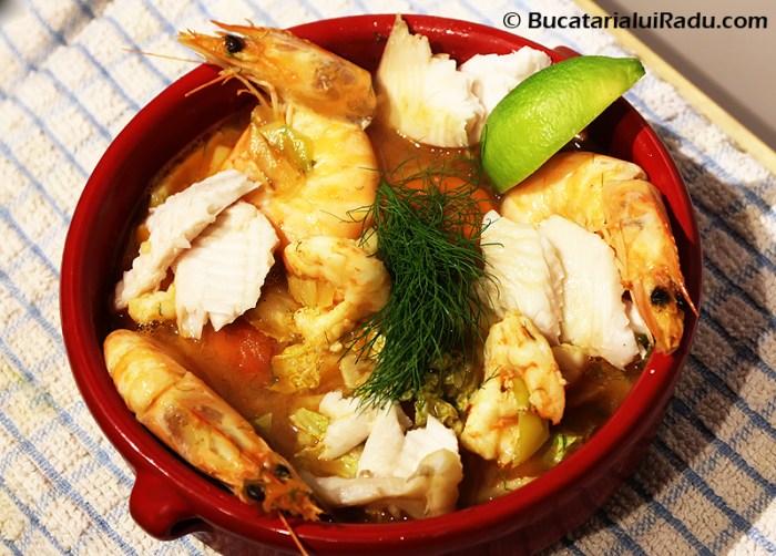 supa de peste  reteta culinara