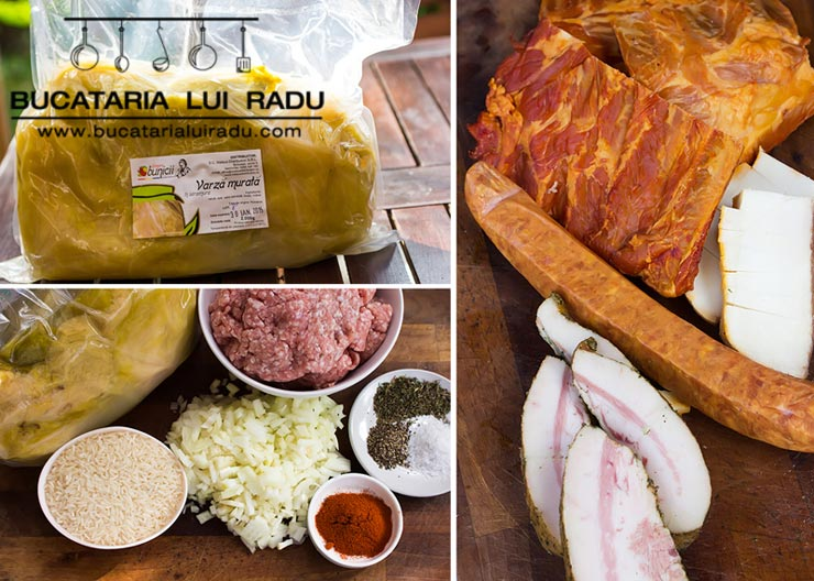 sarmale traditionale ingrediente