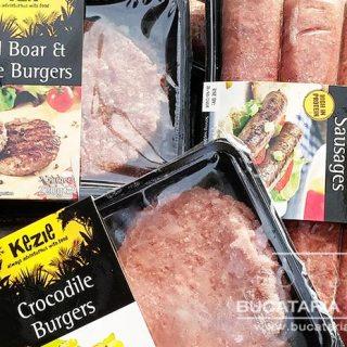 hamburgeri din carne de crocodil