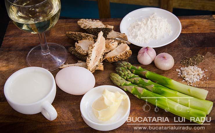 ciuperci cu sos de vin zbarciogi ingrediente