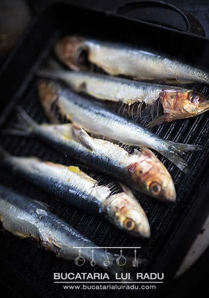 sardine la grill pregatire