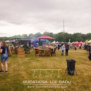 Foodies Festival, Alexandra Palace, Londra. Iulie 2015.