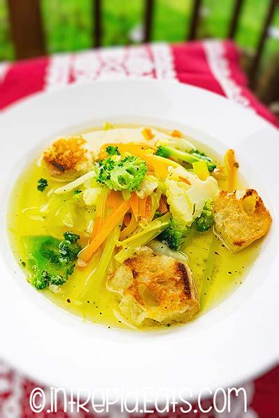 supa Julienne reteta culinara