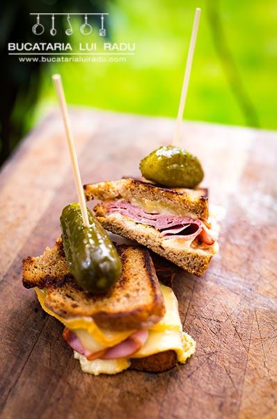 sandwich cald reteta