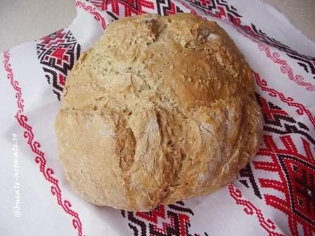 Pâine rapidă cu iaurt şi seminţe