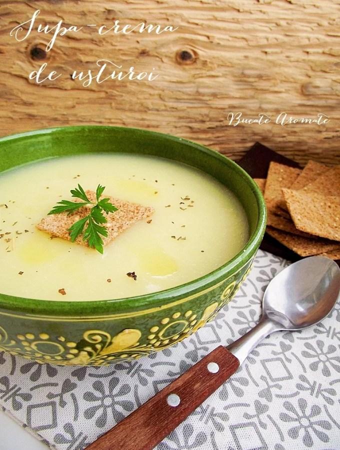 Supă-cremă de usturoi (de post)