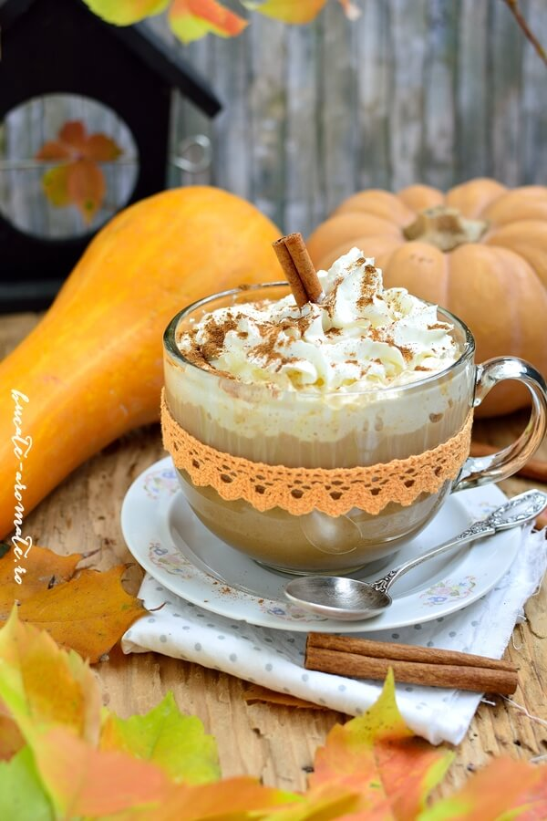 Pumpkin Spice Latte – Starbucks style