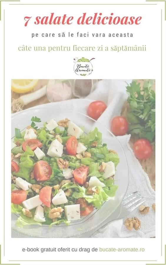 E-book gratuit – 7 salate delicioase pe care să le faci vara aceasta