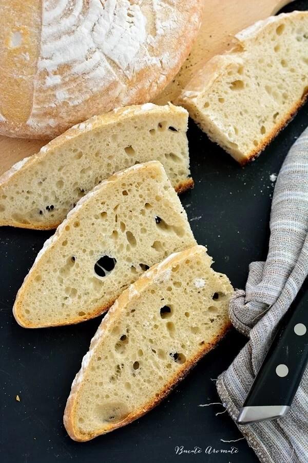 Prima pâine cu maia naturală. Formula 1:2:3