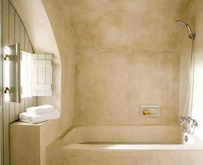 Tadelakt fugenlos Bad Bder Badezimmer Dusche Fussboden Trier Luxembourg