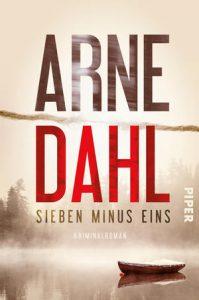 Arne Dahl - Sieben minus Eins (Cover)
