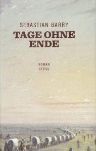 Sebastian Barry - Tage ohne Ende (Cover)