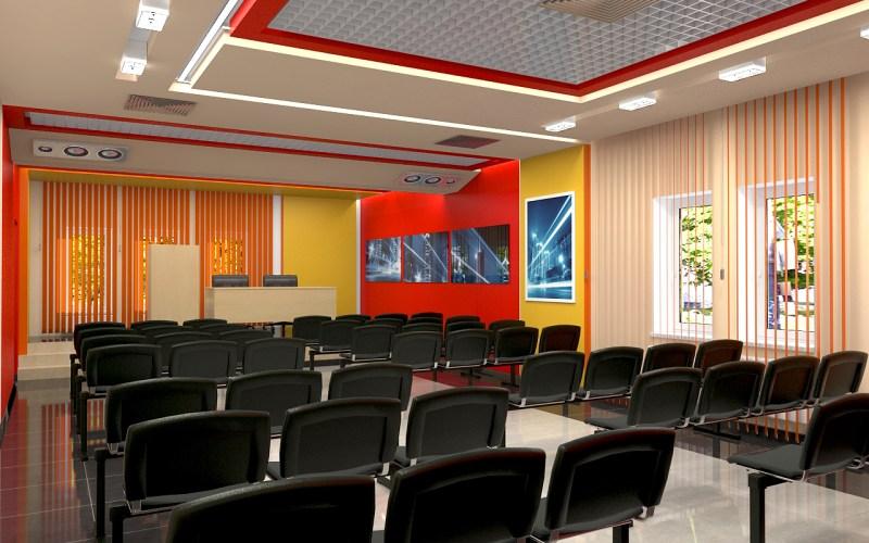 Дизайн актового зала 01