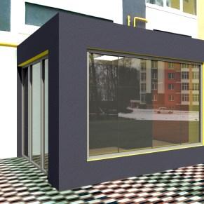 Дизайн проект входной группы г. Ирпень, Синергия 2, 6 очередь.
