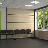 Дизайн коридора в налоговой академии