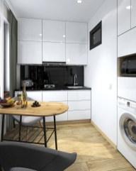 Дизаин интерьера маленькой кухни 4,5 м2 в хрущевке.