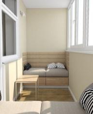 Дизайн интерьера. г. Киев. Балкон.2