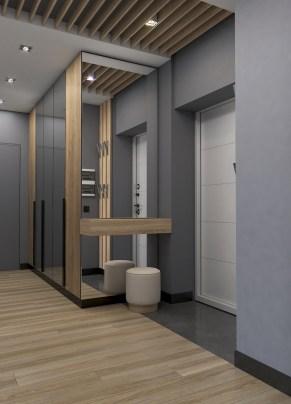 Дизайн интерьера прихожей в двухкомнатной квартире.