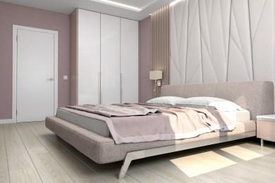 Дизайн светлой спальни в современном стиле