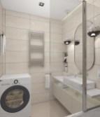 Ванная комната. Шторка Ravak для ванных