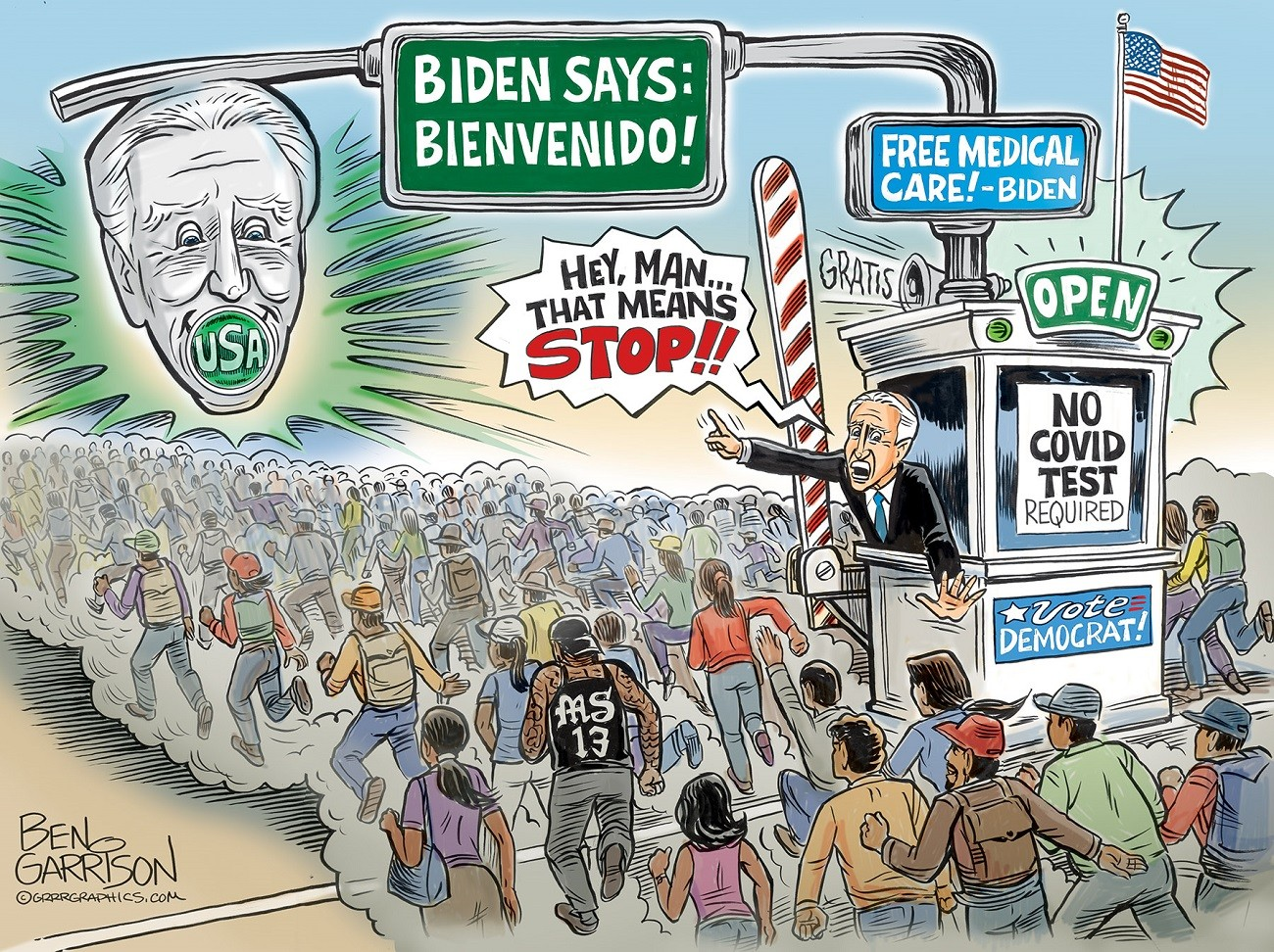 Why Is Biden Creating His Own Crises?