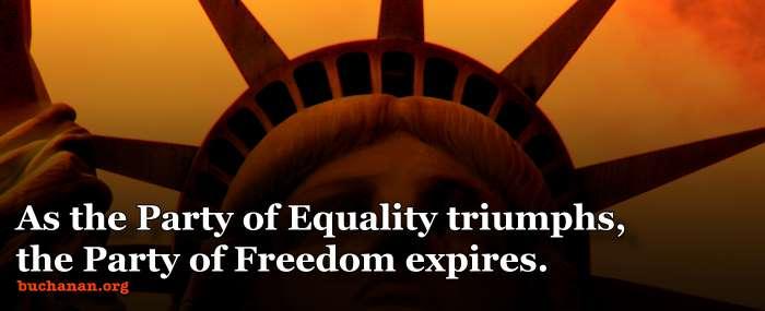 Liberty versus Equality