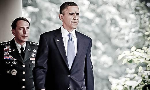 Petraeus and Obama