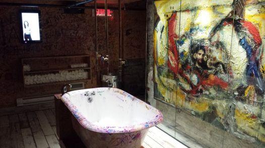 Les toilettes du lieu sont particulières...