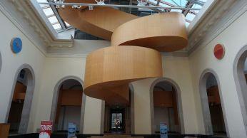 La seule image de l'intérieur du musée AGO