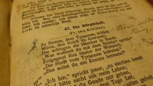 Balladen (hier von Schiller): Eine Gattung der Klassik (Foto: EME / pixabay.de)