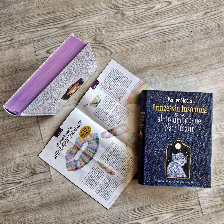 Prinzessin Insomnia und der albtraumfarbene Nachtmahr – Walter Moers