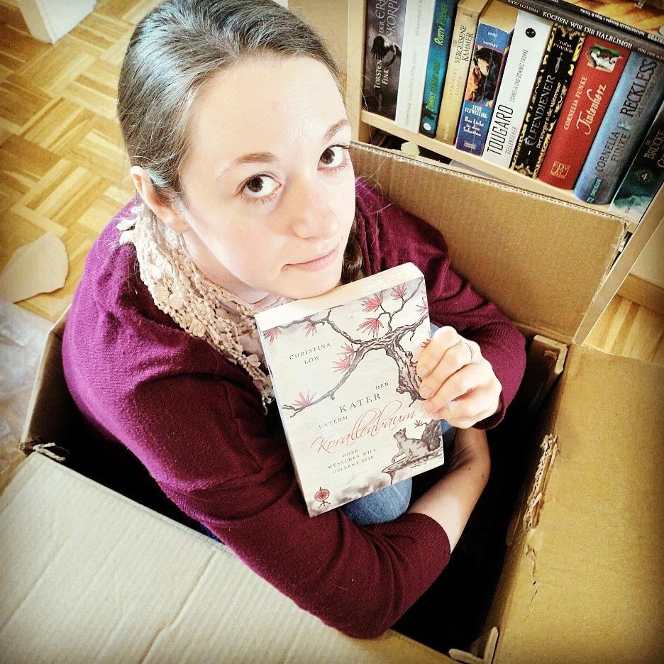 18 – Christina Löw mit Ingwer und Katze