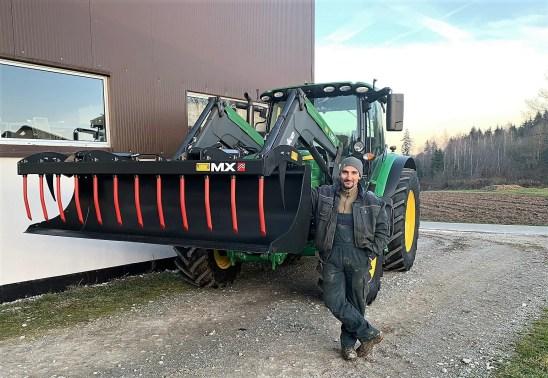 02102020 Bucher_Agrotechnik, Greifer MX mit FL Quicke