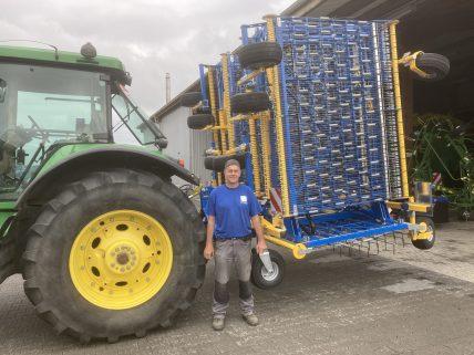 07112020 Bucher_Agrotechnik, Treffler Striegel 15m