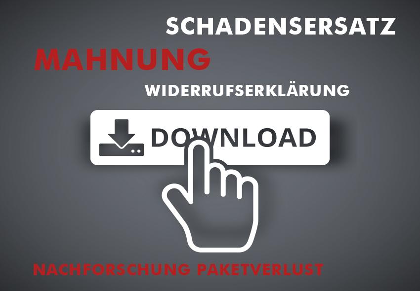 Mustervorlagen downloaden: Mahnwesen Widerruf
