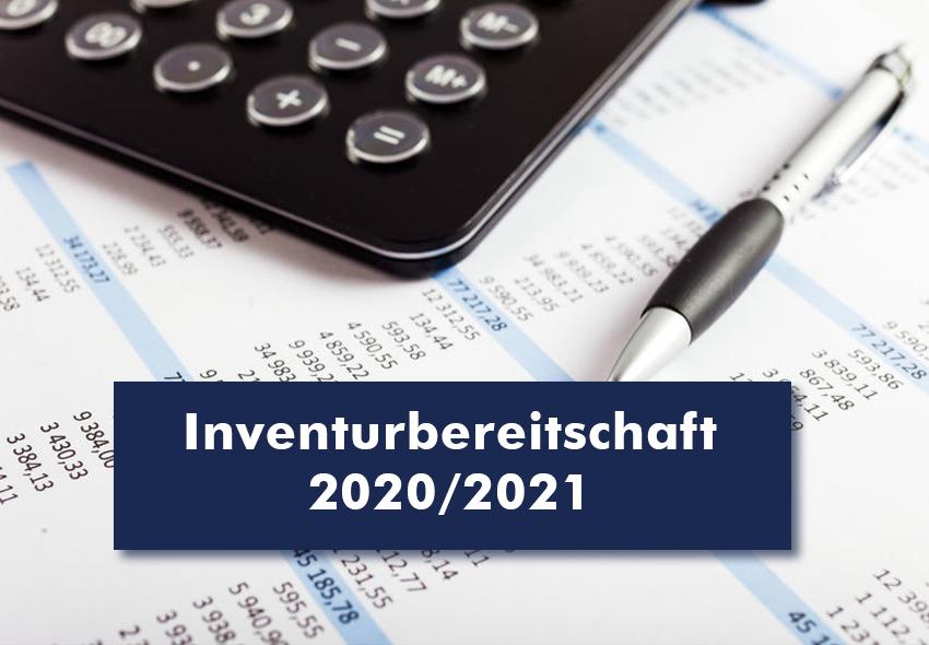 Inventurbereitschaft 2020/2021 eurosoft