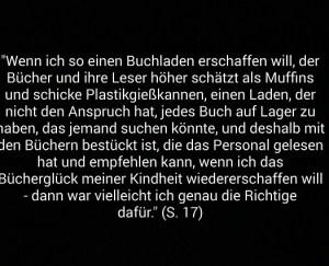 "©Atlantik-Verlag ""Aus Liebe zum Buch"" Ann Patchett"